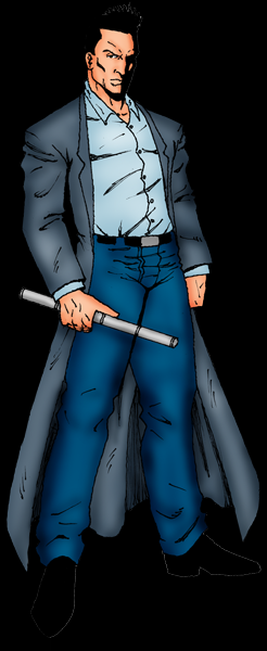 DETECTIVE MITH - MAIN CHARACTER IN CITY OF MITH